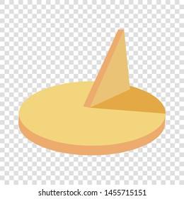 Sundial icon. Cartoon illustration of sundial vector icon for web