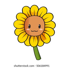 sunflower cartoon images stock photos vectors shutterstock rh shutterstock com sunflower cartoon png sunflower cartoon tumblr