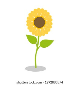 Sunflower is a symbol of confidence, stability, single-minded love. Design by Inkscape.