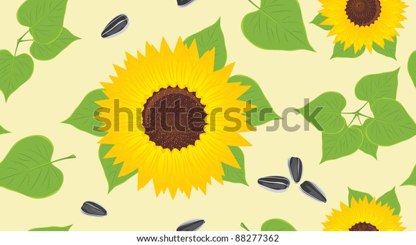sunflowers-pips-decorative-background-ve