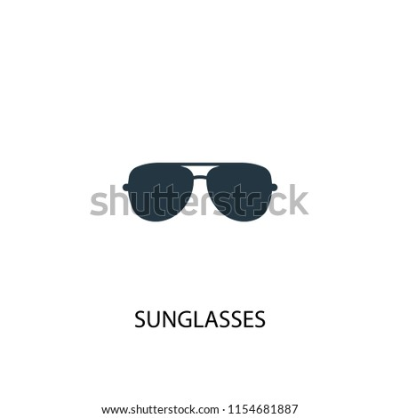 334991398cb7a sunglasses creative icon. Simple element illustration. sunglasses concept  symbol design from Summer collection.
