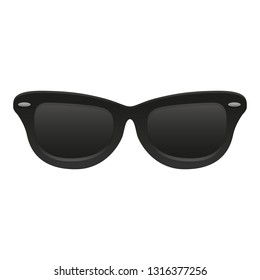 Sunglasses Emoji Objects Summer. A Illustration Face 3d Color.