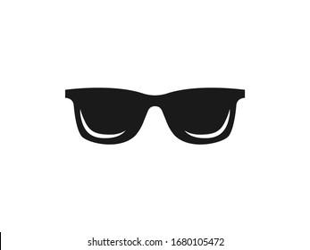 Sunglasses, glasses icon. Vector illustration, flat design.