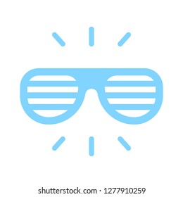 sunglasses icon - sunglasses isolated,eye vision illustration- Vector eyeglasses