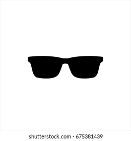 Sunglasses icon in trendy flat style isolated on background. Sunglasses icon page symbol for your web site design Sunglasses icon logo, app, UI. Sunglasses icon Vector illustration, EPS10.