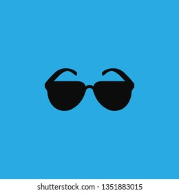 sunglasses icon vector