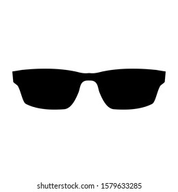 Sunglasses icon in vector and illustration