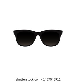 Sunglasses icon. Vector illustration. Isolated.