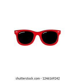 Sunglasses icon vector symbol isolated. Vector illustration. Vector icon illustration isolated on white background.