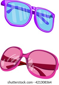 Sunglasses illustration vector art
