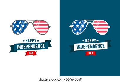 Sunglasses patriot for independence day 4th of July