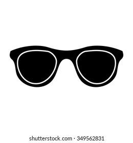 sunglasses sign icon. glasses button.