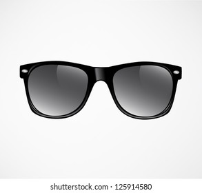 Sunglasses vector illustration background