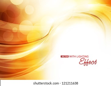 Sunlight. Abstract background. Vector