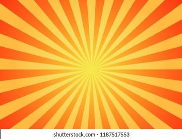 Sunlight background, cartoon style
