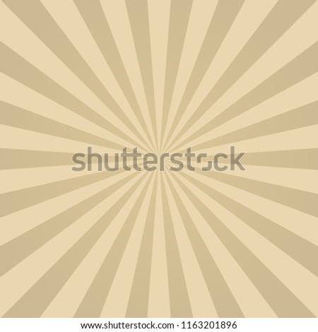 Sunlight Retro Faded Background Beige Color Stock Vector Royalty