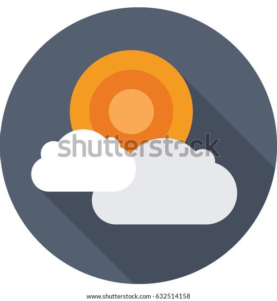 Sunny Day Vector Icon