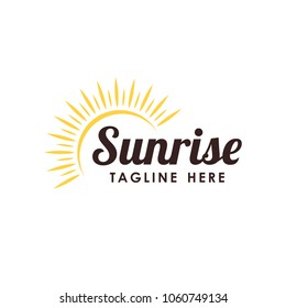 sunrise logo template