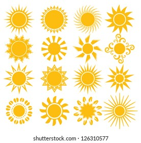 suns - elements for design