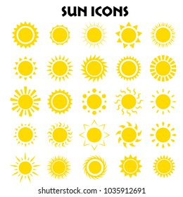 suns icon collection