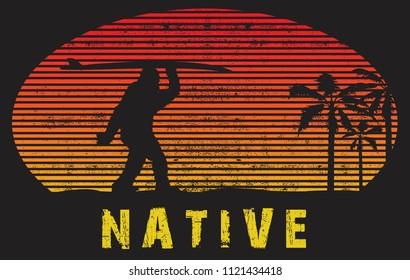 the sunset bigfoot