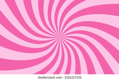 Sunshine background vector. Abstract pink design wallpaper for template.