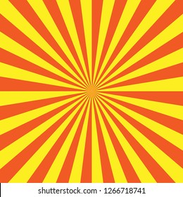 Sunshine vector format for graphic design.