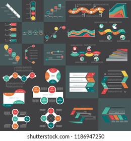 Super big set 3, Infographic elements, Templates for business re