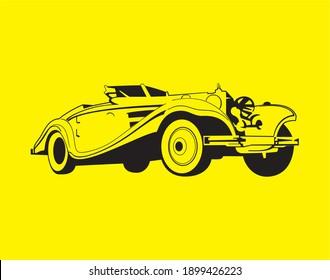 Super Car HD Vector Image