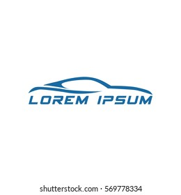 super car logo design 1