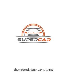 Super cars logo design template inspiration