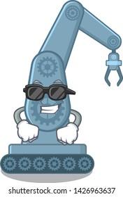 Super cool mechatronic robotic arm in mascot shape