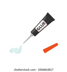 super glue illustration