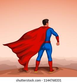 super hero back