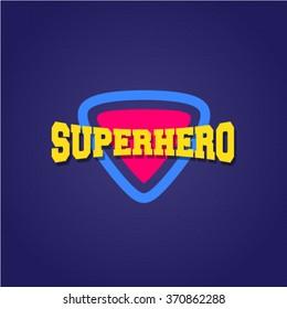 Super hero power full typography, t-shirt graphics, vectors. plectrum guitar