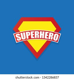 Super hero power graphics, vector