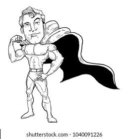 Super hero sketch