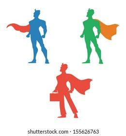 super hero vector illustration