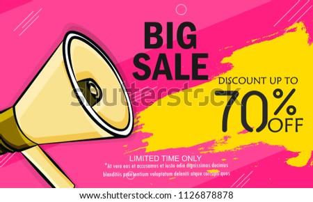 5bfb20287bfb71 Super Sale, Big Sale this weekend special offer banner, Vector illustration