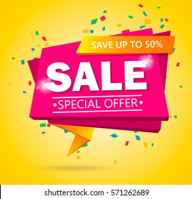 9e774d790 Super Sale poster, banner. Big sale, clearance. 50% off. Vector