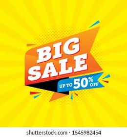Super sale special offer, Sale banner template design