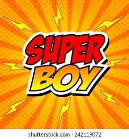 SuperBoy.