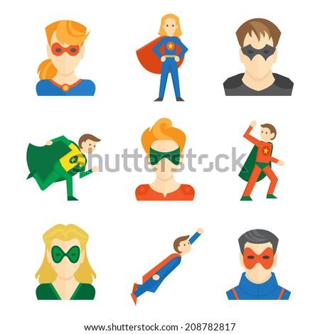 Superhero boys and girls