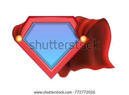 Superhero Icon Superhero Logo Super Hero Stock Vector (Royalty Free ...