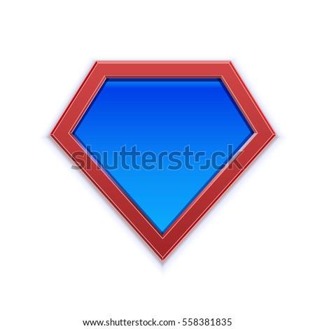 Superhero Logo Icon Template Web Design Stock Vector (Royalty Free ...