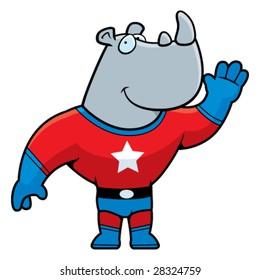 Superhero Rhino