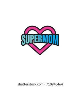 supermom logos