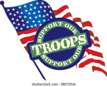 Support our troops Icon