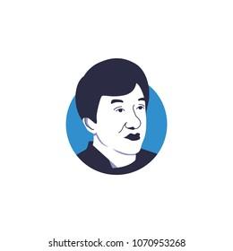 Jackie Chan cartoon sesso video