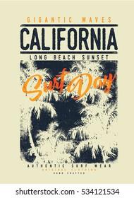 surf graphic. T-shirt Printing. Surfing Design.